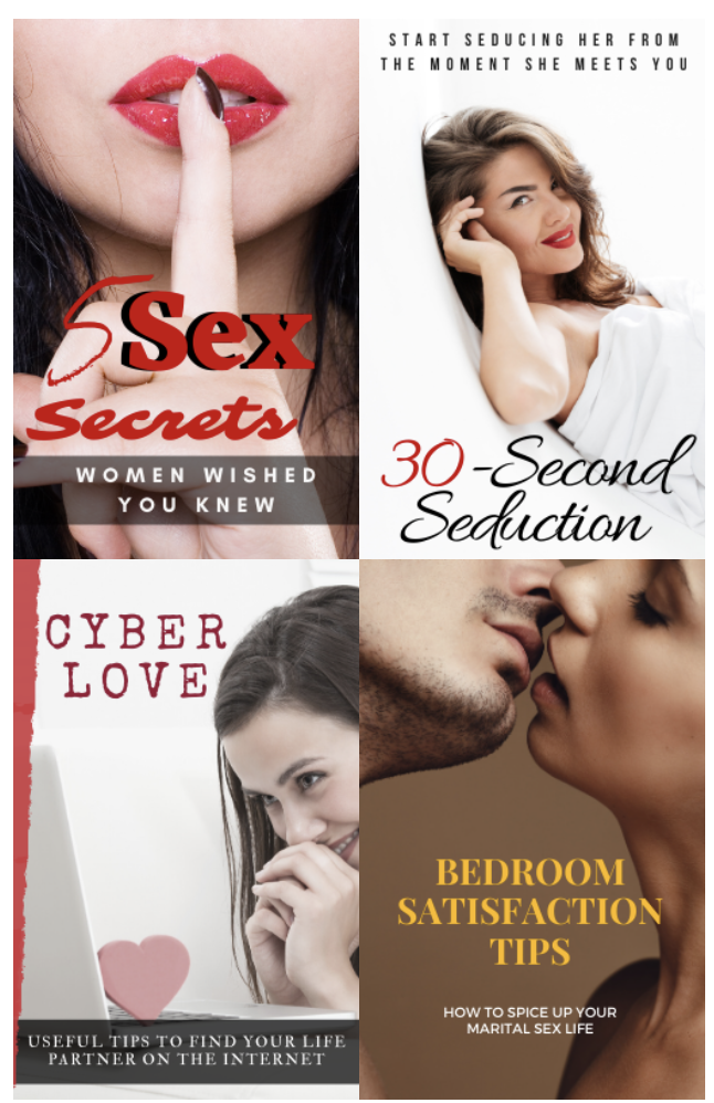 livro sobre Sedução, Sexo e Satisfação